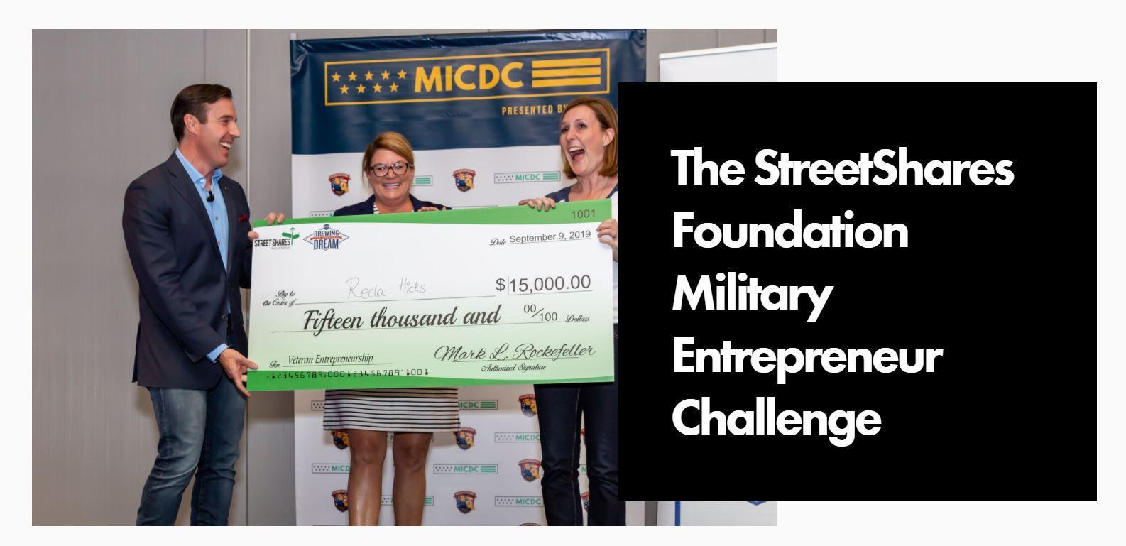 StreetShares Big check